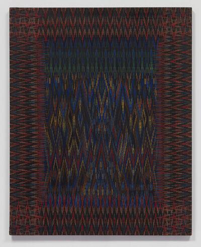 Lee Mullican, 'Guardian Window from the Blue Soul Chapel', 1975