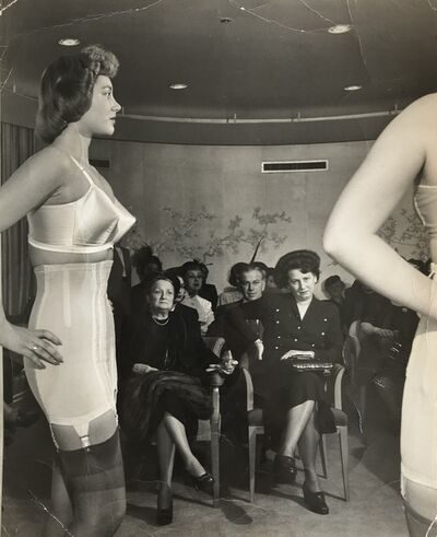 Gordon Parks, 'Life Photo- Woman Modeling Girdle', 1948