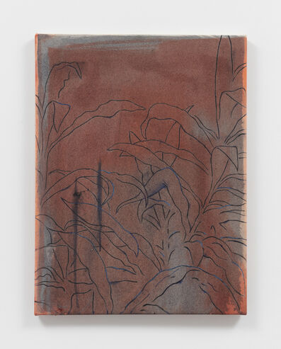 Roman Cochet, 'Hommage à Sylvia Plimack Mangold', 2019