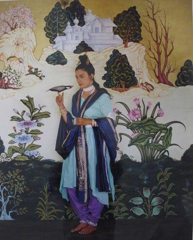 Pushpamala N., 'The Green Yogini', 2012