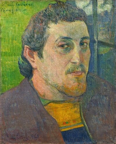 Paul Gauguin, 'Self Portrait Dedicated to Carriere', 1888-1889