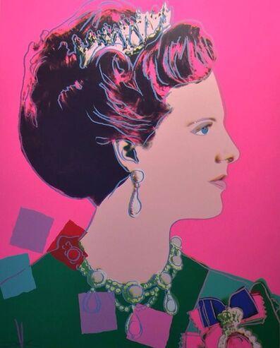 Andy Warhol, 'Queen Margrethe II of Denmark (FS II.345)', 1985