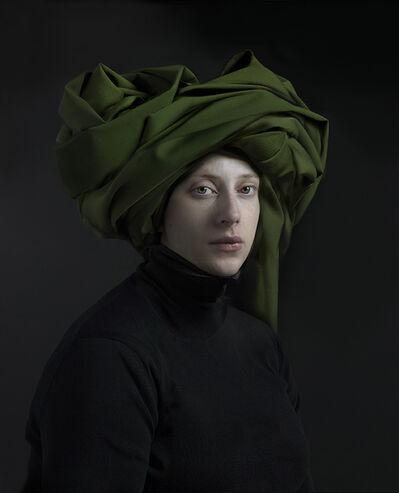 Hendrik Kerstens, 'Green Turban', 2017