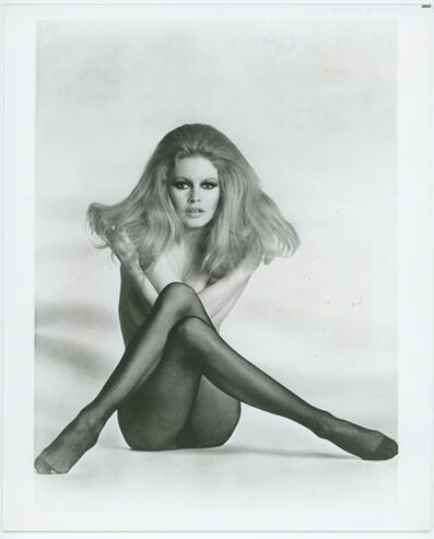 Unknown, 'Brigitte Bardot Press Print', 1959