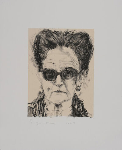 Jim Dine, 'Madame and Her Sunglasses', 2009