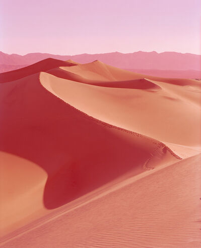 David Benjamin Sherry, 'Sunrise on Mesquite Flat Dunes, Death Valley, California', 2013