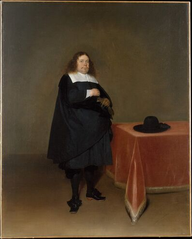 Gerard ter Borch the Younger, 'Burgomaster Jan van Duren (1613–1687)', ca. 1666–1667