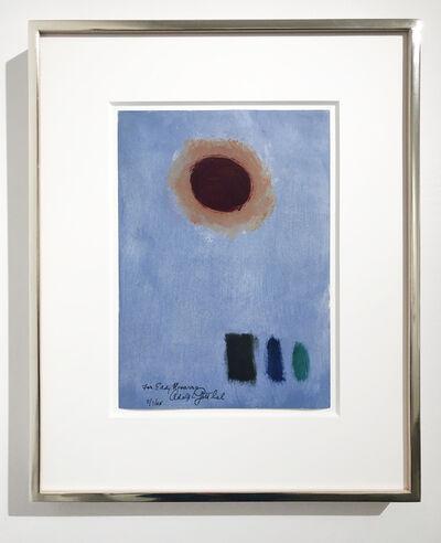 Adolph Gottlieb, 'Untitled ', 1965