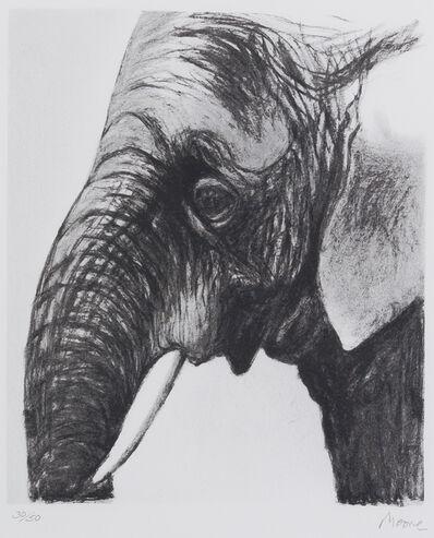 Henry Moore, 'Elephant's Head I', 1981