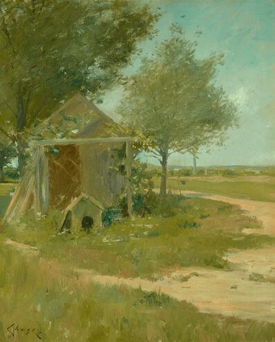 William Merritt Chase, 'The Back Yard, Shinnecock', ca. 1900