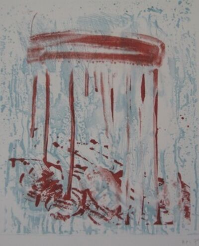 Pat Steir, 'Red Drips', 1991
