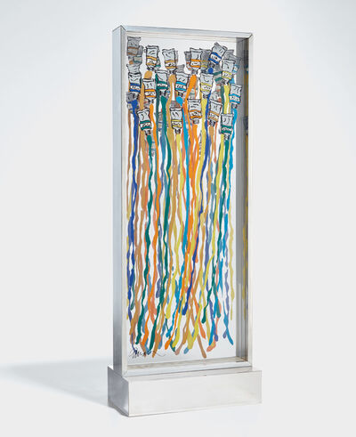 Arman, 'Harpe de couleurs (Harp of Colors)', 1975