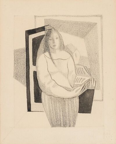 Juan Gris, 'Femme au Livre', circa 1926