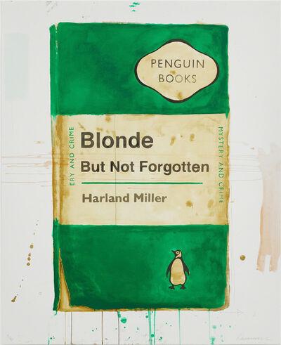 Harland Miller, 'Blonde But Not Forgotten', 2013