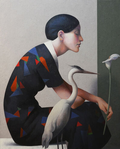 Fabio Hurtado, 'Lady bird, flower', ca. 2020