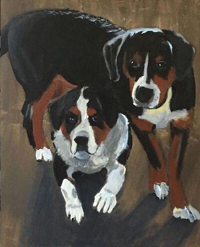 David Reardon, 'Two Dogs', 2019