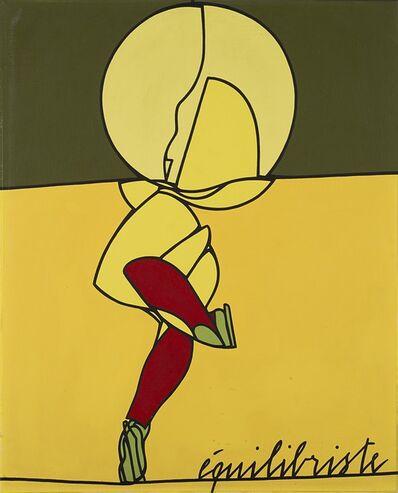 Valerio Adami, 'Equilibriste', 1976