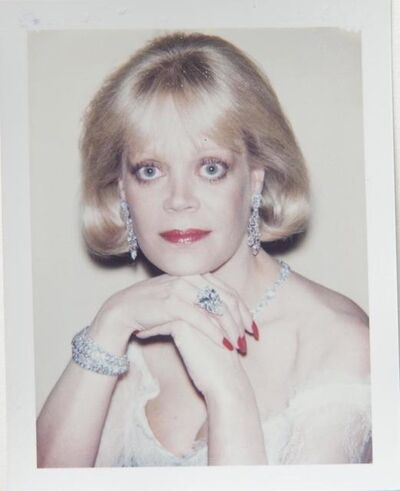 Andy Warhol, 'Andy Warhol, Polaroid Photograph of Candy Spelling, 1985', 1985