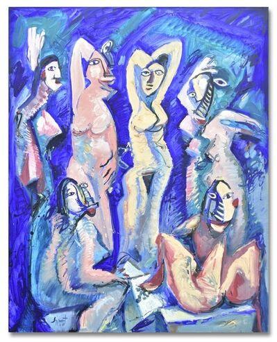 Jazzamoart, 'Las Señoritas de Avignon '