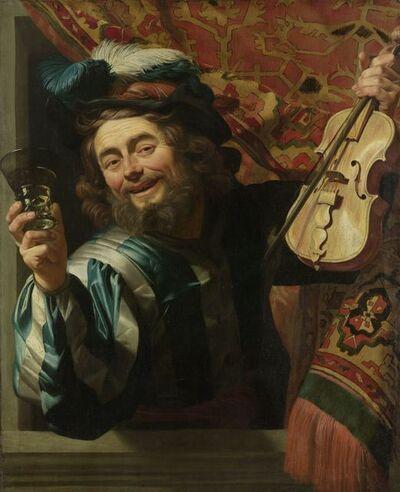 Gerrit van Honthorst, 'The Merry Fiddler', 1623