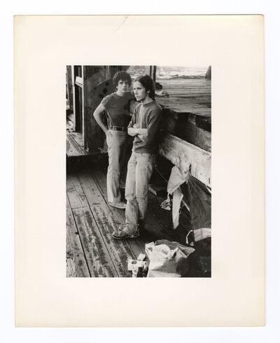 Alvin Baltrop, 'The Piers (two men)'