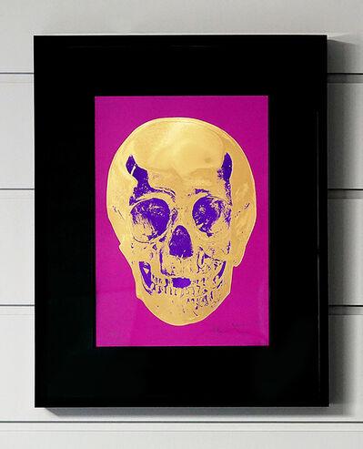 Damien Hirst, 'Skull, Fuchsia/Gold', 2012