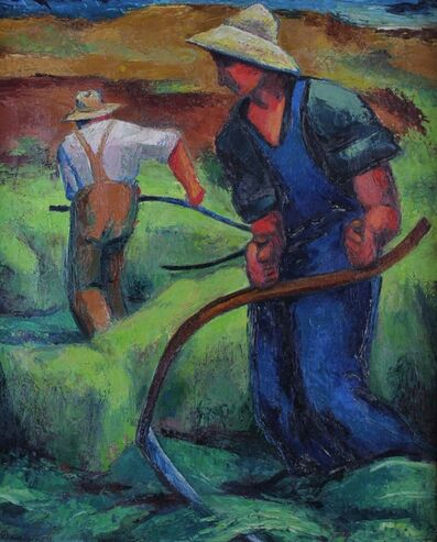 Frederick Buchholz, 'Rhythm of the Season', Circa 1935