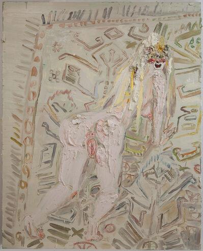 Allison Schulnik, 'Rug Girl', 2009
