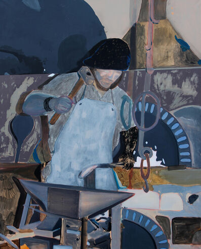 Lou Ros, 'The Blacksmith', 2019