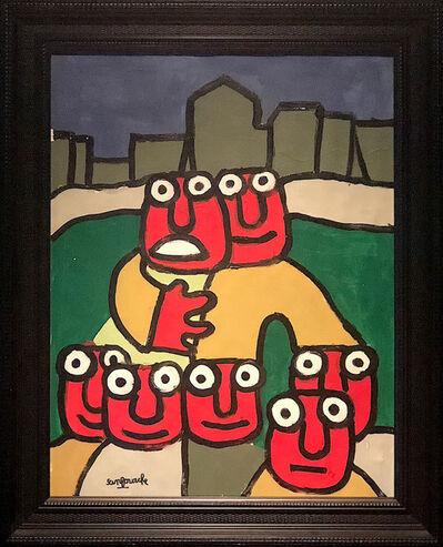 SANFOURCHE Jean-Joseh, 'LA FAMILLE', ca. 2004