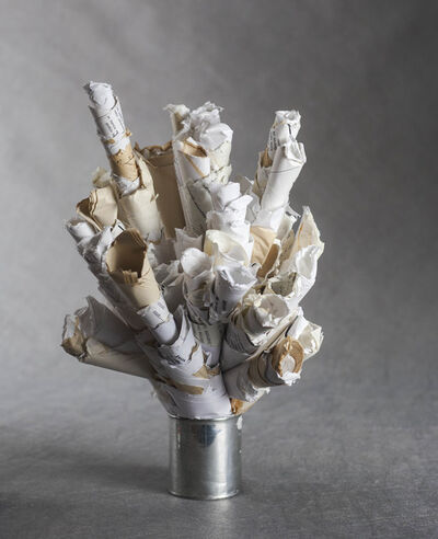 Dimitri Prigov, 'Tree of rejected poems', 2006