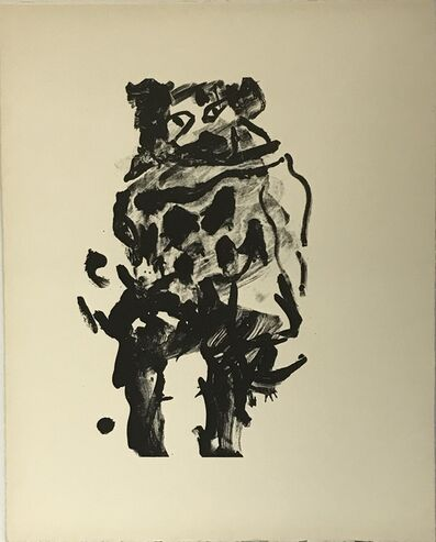Willem de Kooning, 'Untitled (Litho #10)', 1966