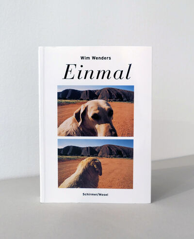 Wim Wenders, 'Einmal (signed)', 2015