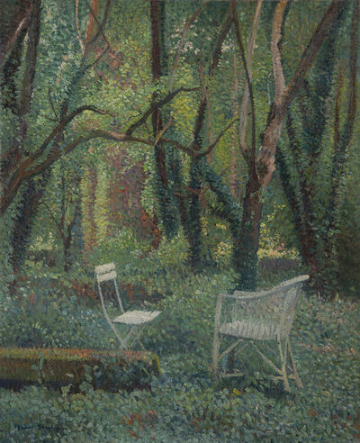 Henri Martin, 'Au coeur du parc de Marquayrol', ca. 1920