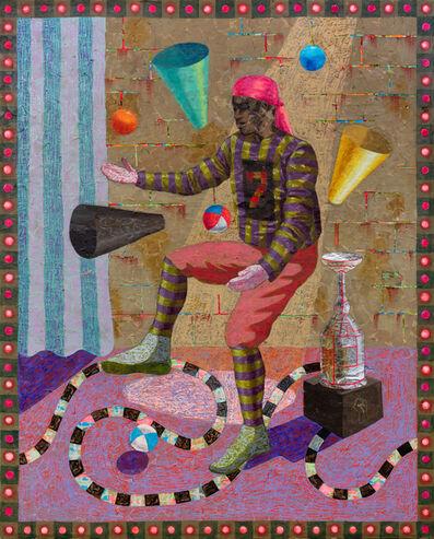Derek Fordjour, 'JUGGLR', 2020