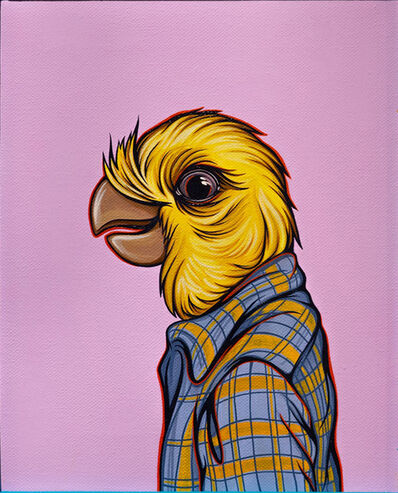 Kaitlin Ziesmer, 'Bird in Your Dad's Shirt Cockatiel', 2018