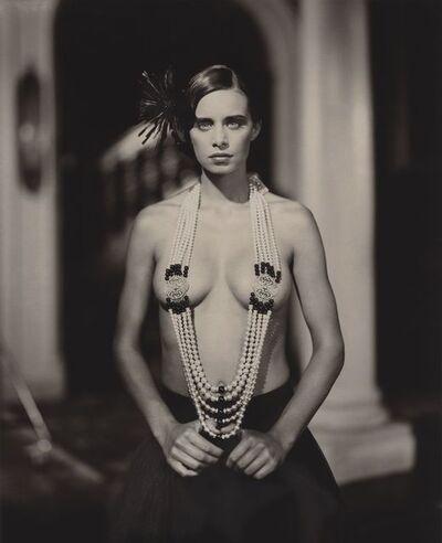 Marc Lagrange, 'Princess with pearls', 2017