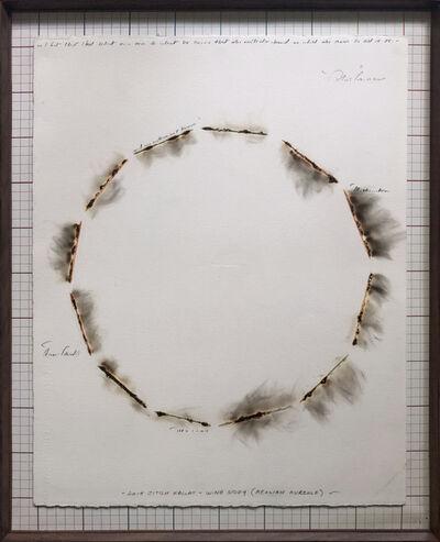 Jitish Kallat, 'Wind Study (Aeolian Aureole)', 2019