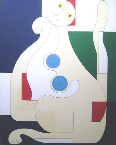 Hildegarde Handsaeme, 'Female Cat', 2012