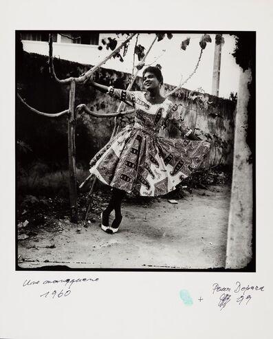 Jean Depara, 'Une mannequine', 1960