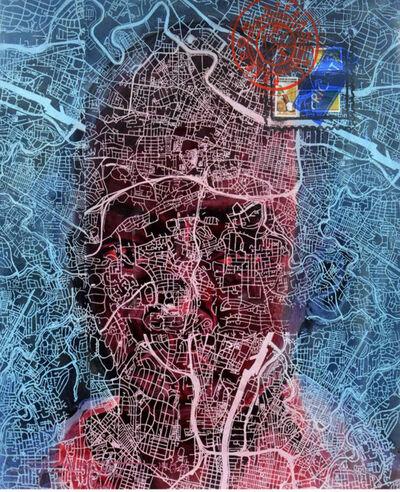 Jean David Nkot, 'THE SHADOWS OF SPACE #13', 2019