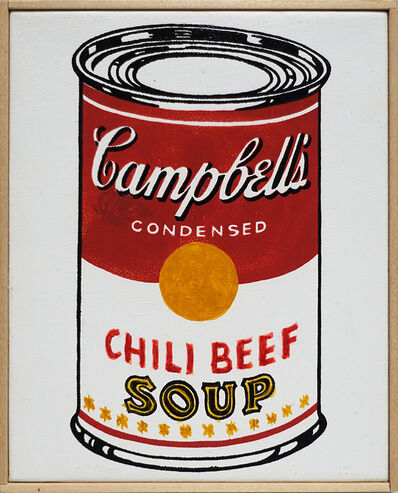 Richard Pettibone, 'Andy Warhol, 'Campbells Soup Can, / Chili Beef,' 1962', 2014