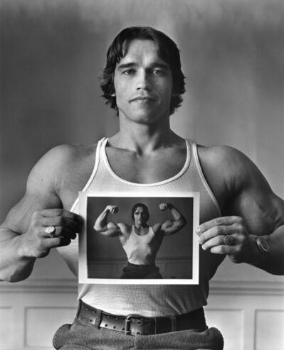 Elliott Erwitt, 'Arnold Schwarzenegger', 1977