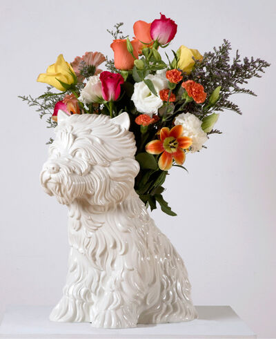Jeff Koons, 'Puppy (Vase)', 1998