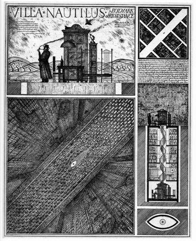 Brodsky & Utkin, 'Villa Nautilus', 1990