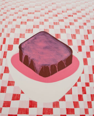 Fleur Yearsley, 'Chocolate Sponge & Pink Custard', 2018