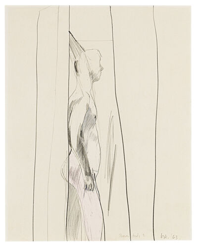 David Hockney, 'Shower Study II', 1963