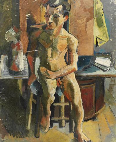 Eren Eyüboğlu, 'Nude (Male)', 1942