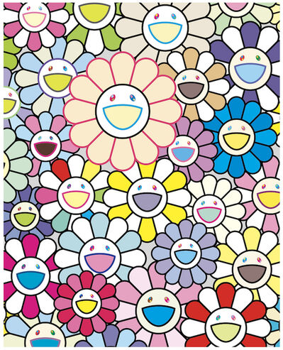 Takashi Murakami, 'FIELD OF FLOWERS', 2020