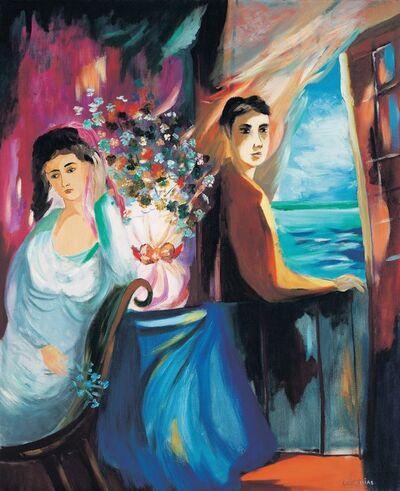 Cícero Dias, 'Couple', ca. 1950's